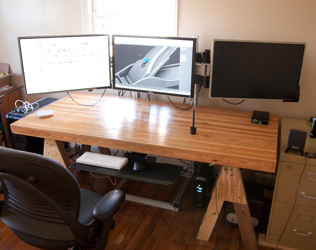 11 for Schreibtisch 3 monitore